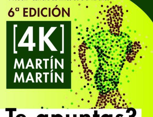 4K MARTIN MARTIN.  CARRERA POPULAR COMO FINAL DE FIESTAS DE SAN JOSÉ